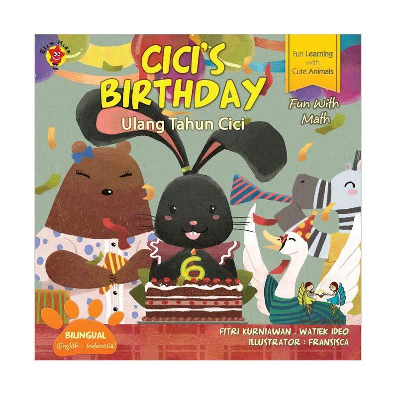 Grazera Fun Learning With Math Cici`S Birthday By Watiek Ideo Buku Anak