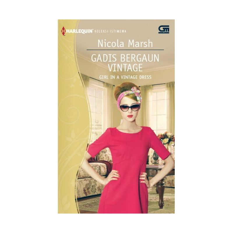 Grazera Gadis Bergaun Vintage by Nicola Marsh Buku Fiksi
