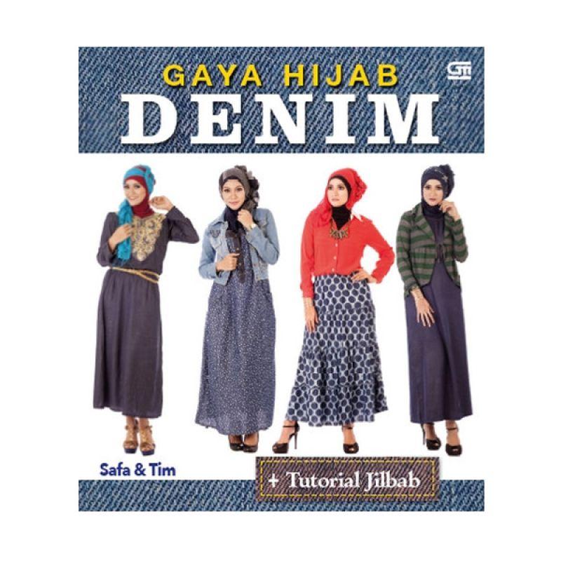 Grazera Gaya Hijab Denim by Safa Buku Agama