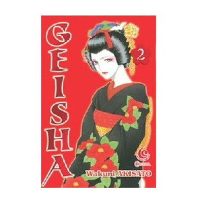 Grazera Geisha Vol 02 by Wakuni Akisato Buku Komik