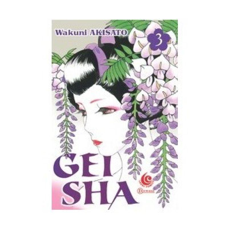 Grazera Geisha Vol 03 by Wakuni Akisato Buku Komik