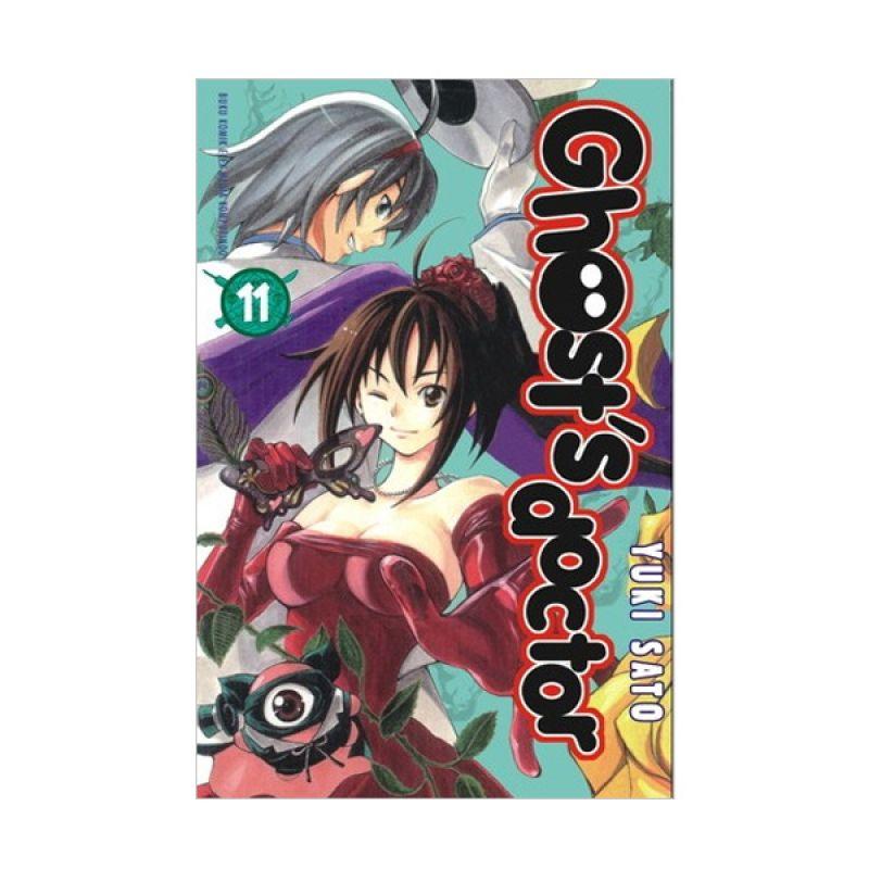 Grazera Ghost Doctor Vol 11 By Yuki Sato Buku Komik