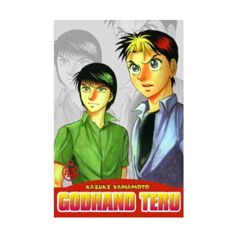 Grazera Godhand Teru Vol 45 By Kazuki Yamamoto Buku Komik