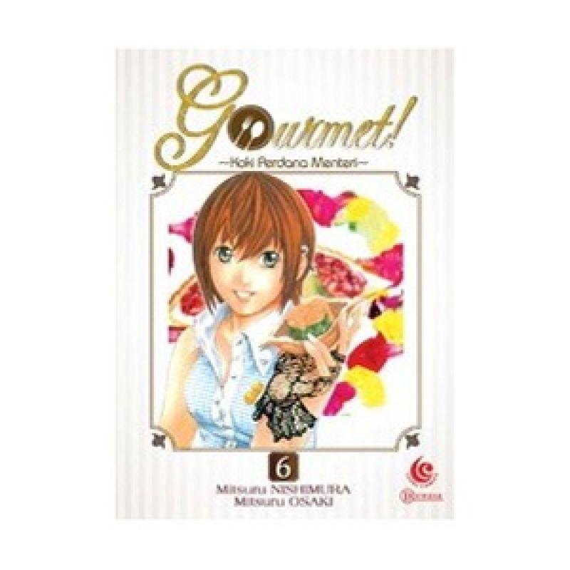 Grazera Gourmet! Vol 06 by Mitsuru Nishimura Buku Komik