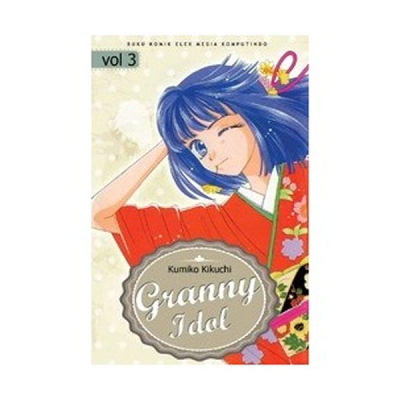 Grazera Granny Idol Vol 03 by Kumiko Kikuchi Buku Komik