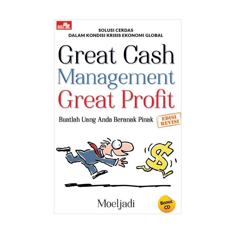 Grazera Great Cash Management Great Profit by Moeljadi Buku Ekonomi dan Bisnis + CD