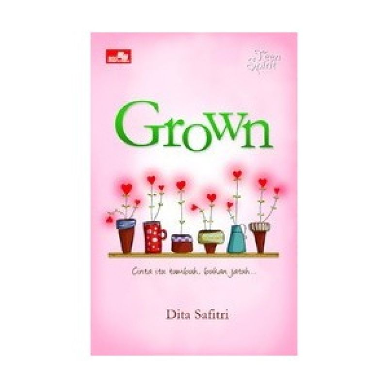 Grazera Grown by Dita Safitri Buku Fiksi