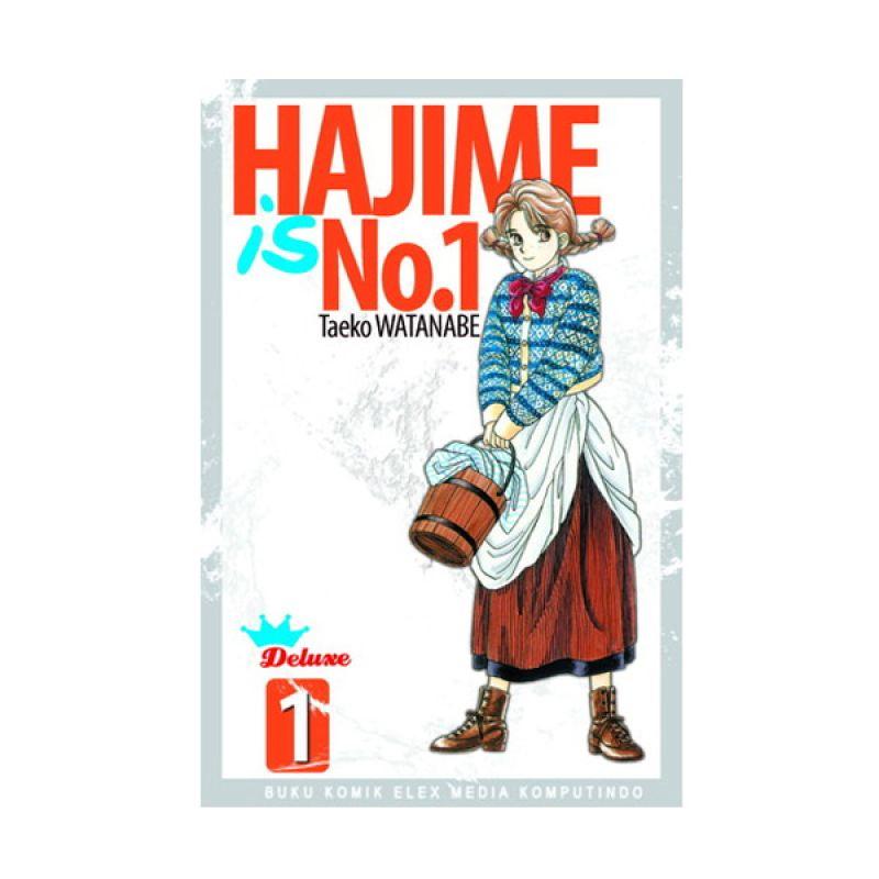 Grazera Hajime Is No 1 [Deluxe] Vol 01 by Taeko Watanabe Buku Komik