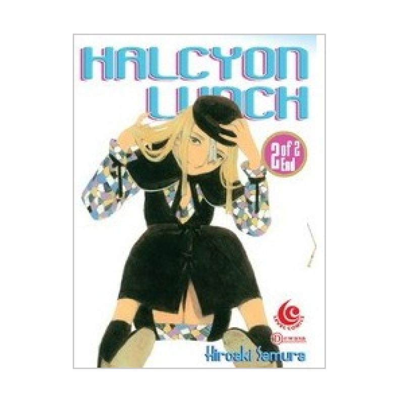 Grazera Halcyon Lunch Vol 2 by Hiroaki Samura Buku Komik [End]