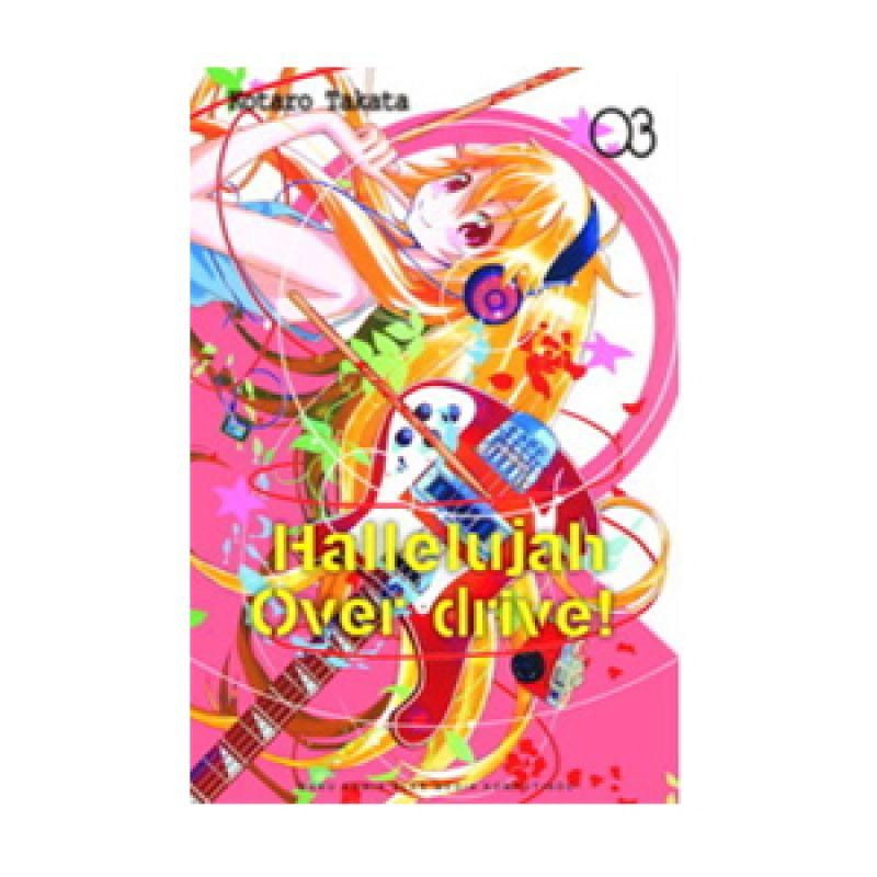 Grazera Hallelujah Overdrive Vol 03 by KotaroTakata Buku Komik