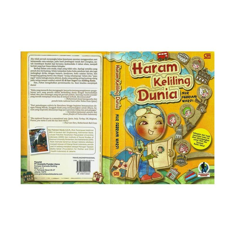 Grazera Haram Keliling Dunia by Nur Febriani Wardi Buku Pariwisata