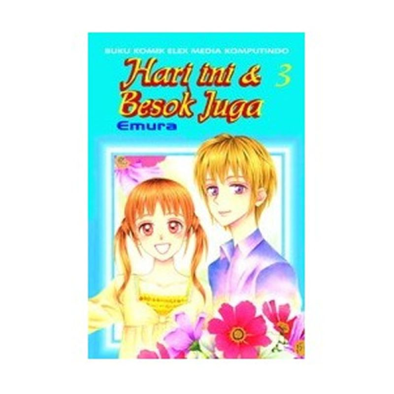 Grazera Hari Ini dan Besok Juga Vol 03 by Emura Buku Komik