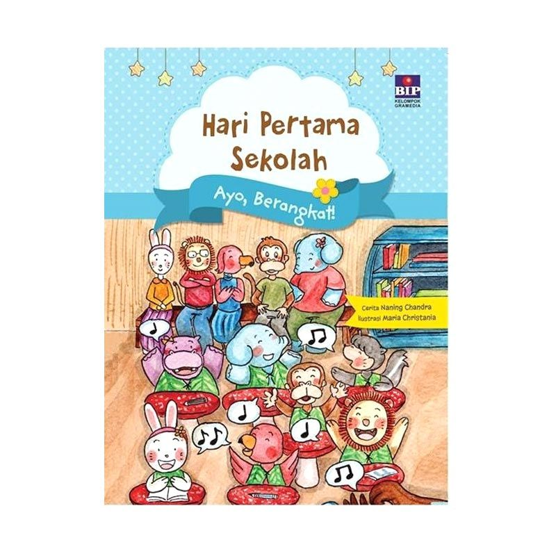 Grazera Hari Pertama Sekolah: Ayo Berangkat! oleh Naning Chandra Buku Anak