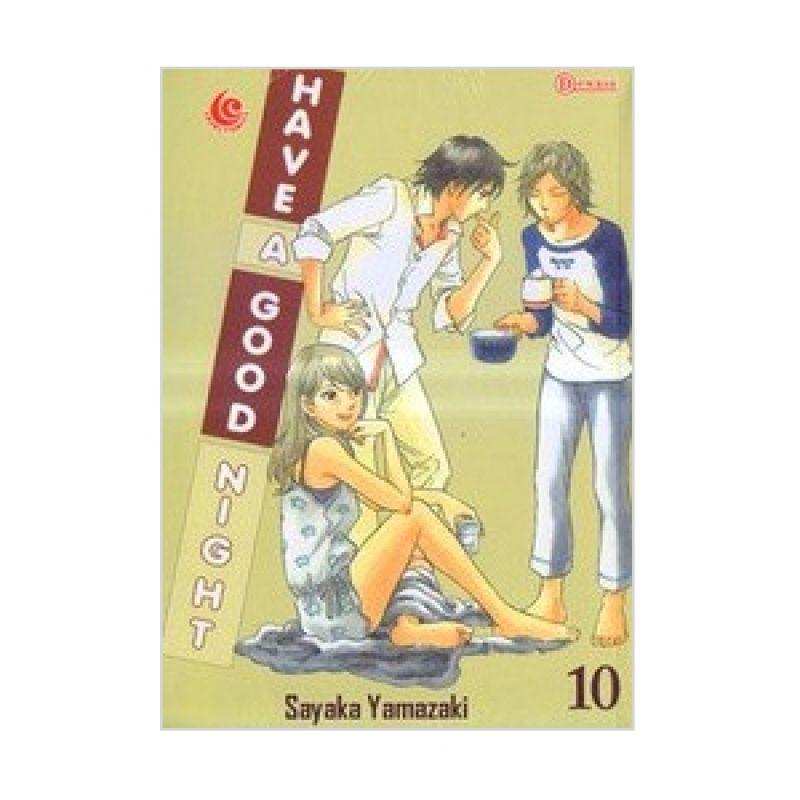 Grazera Have A Good Night Vol 10 by Sayaka Yamazaki Buku Komik