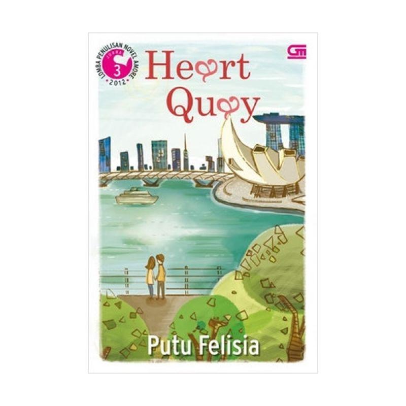 Grazera Heart Quay by Putu Felisia Buku Fiksi