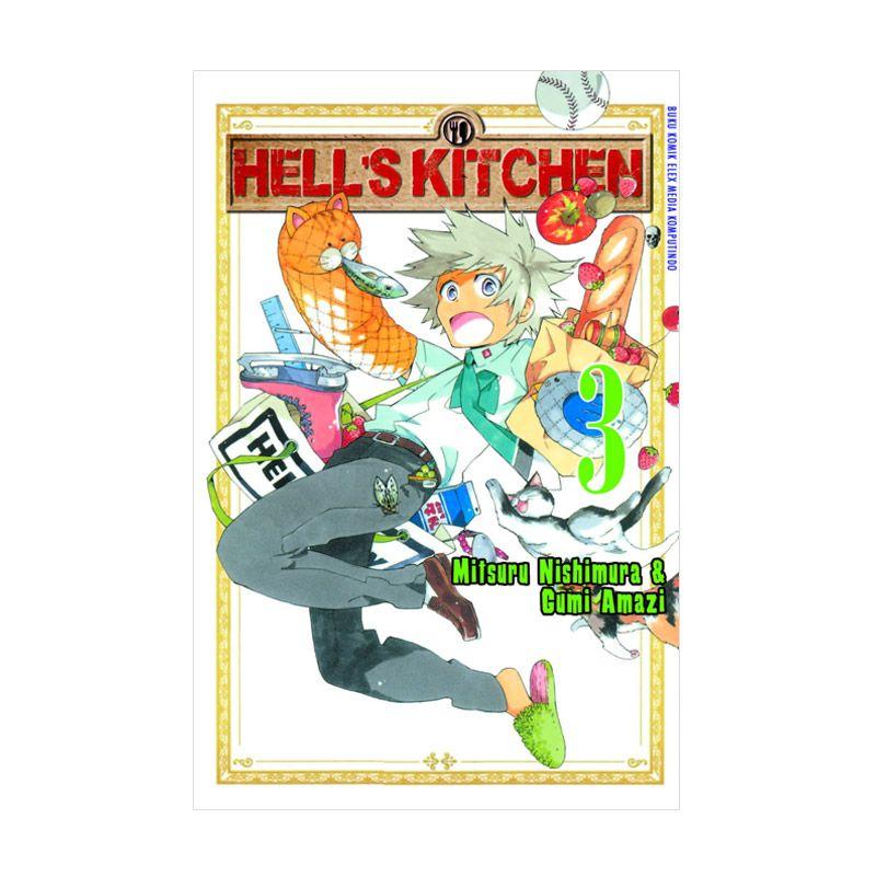 Grazera Hell'S Kitchen Vol 03 by Mitsuru Nishimura & Amazi Gumi Buku Komik