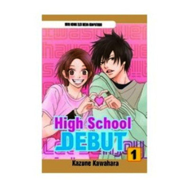 Grazera High School Debut Vol 01 by Kazune Kawahara Buku Komik