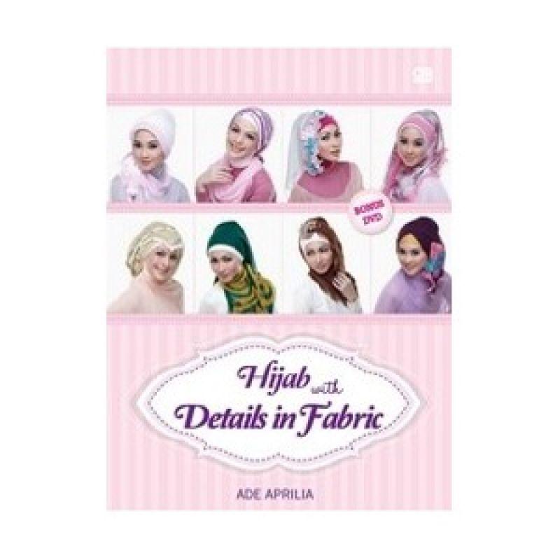 Grazera Hijab with Details in Fabric by Ade Aprilia Buku Hobi