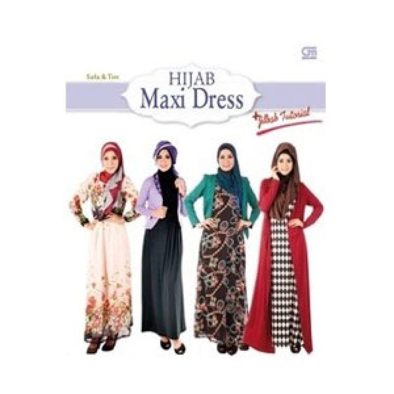 Grazera Hijab Maxi Dress by Safa Buku Hobi + Jilbab Tutorial