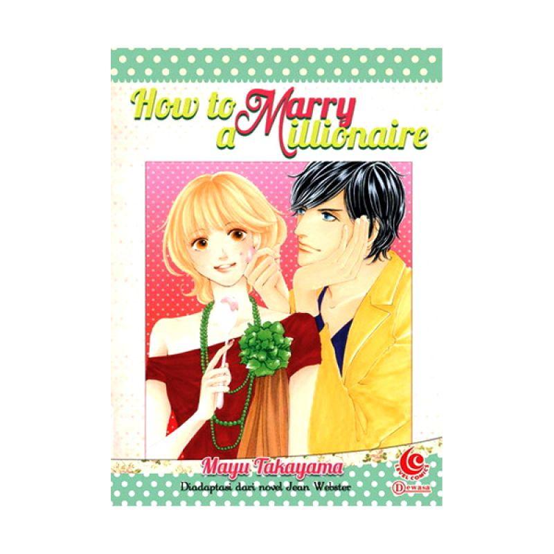 Grazera How To Marry a Millionaire by Mayu Takayama Buku Komik