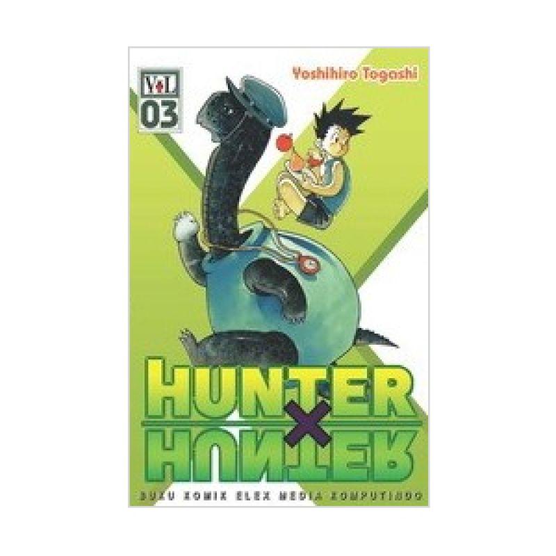 Grazera Hunter X Hunter Vol 03 by Yoshihiro Togashi Buku Komik