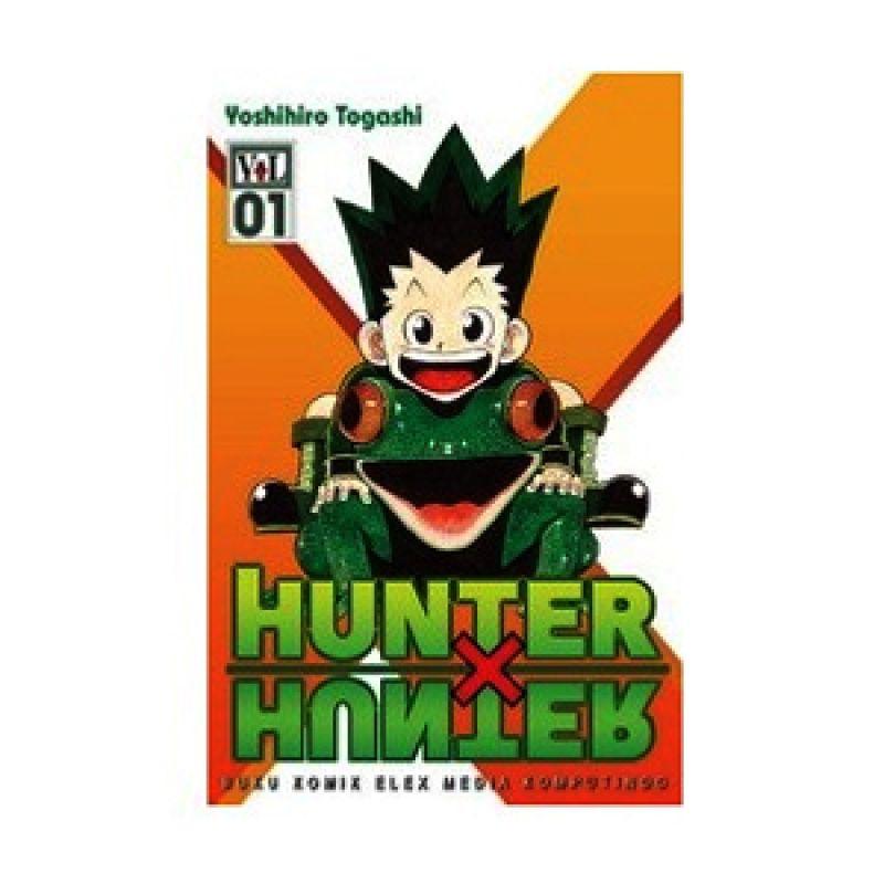 Grazera Hunter X Hunter Vol 01 by Yoshihiro Togashi Buku Komik
