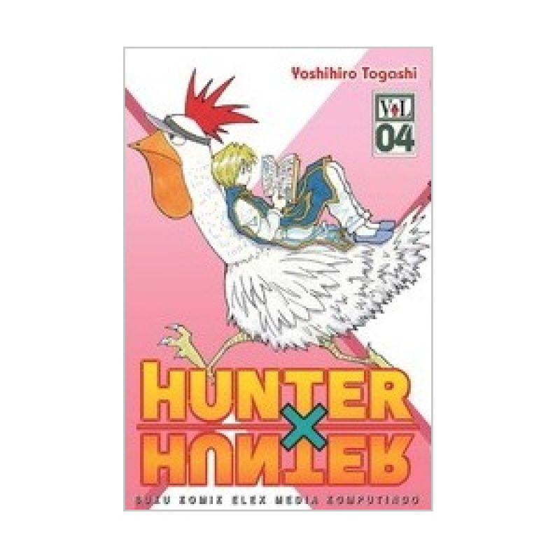 Grazera Hunter X Hunter Vol 04 by Yoshihiro Togashi Buku Komik