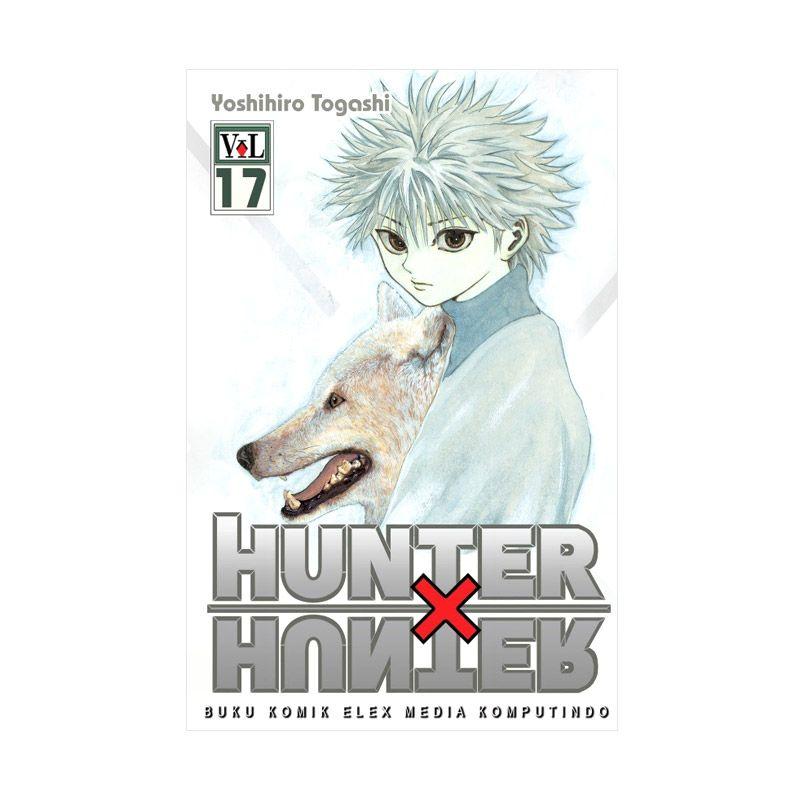 Grazera Hunter X Hunter Vol 17 by Yoshihiro Togashi Buku Komik