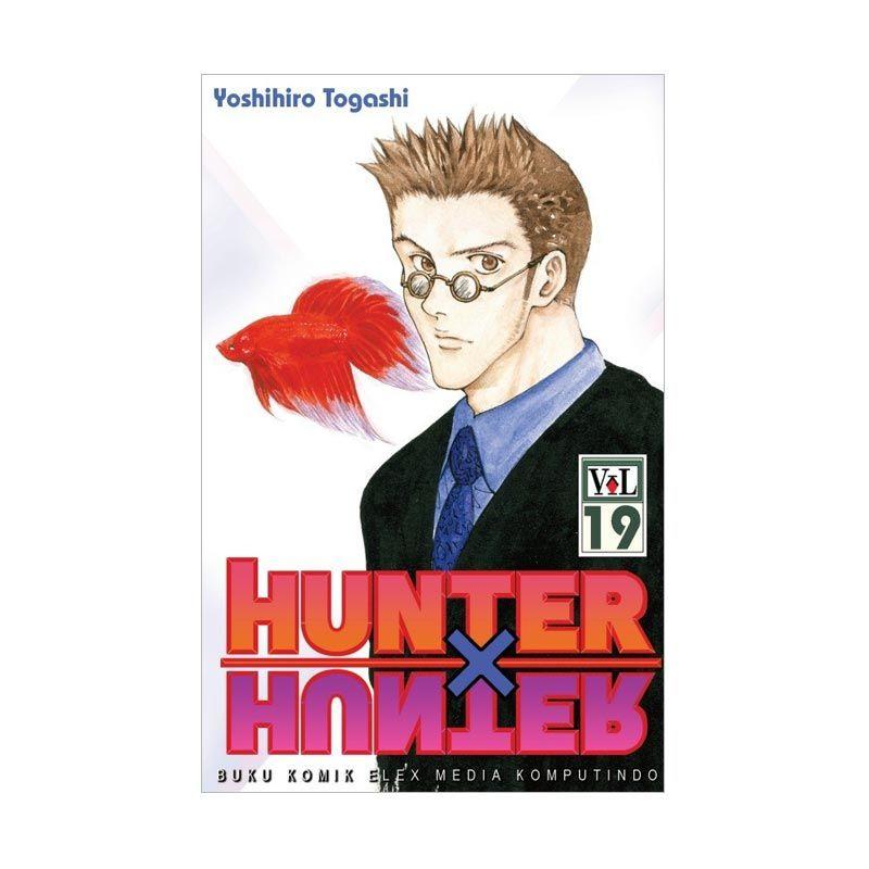 Grazera Hunter X Hunter Vol. 19 By Yoshihiro Togashi Buku Komik