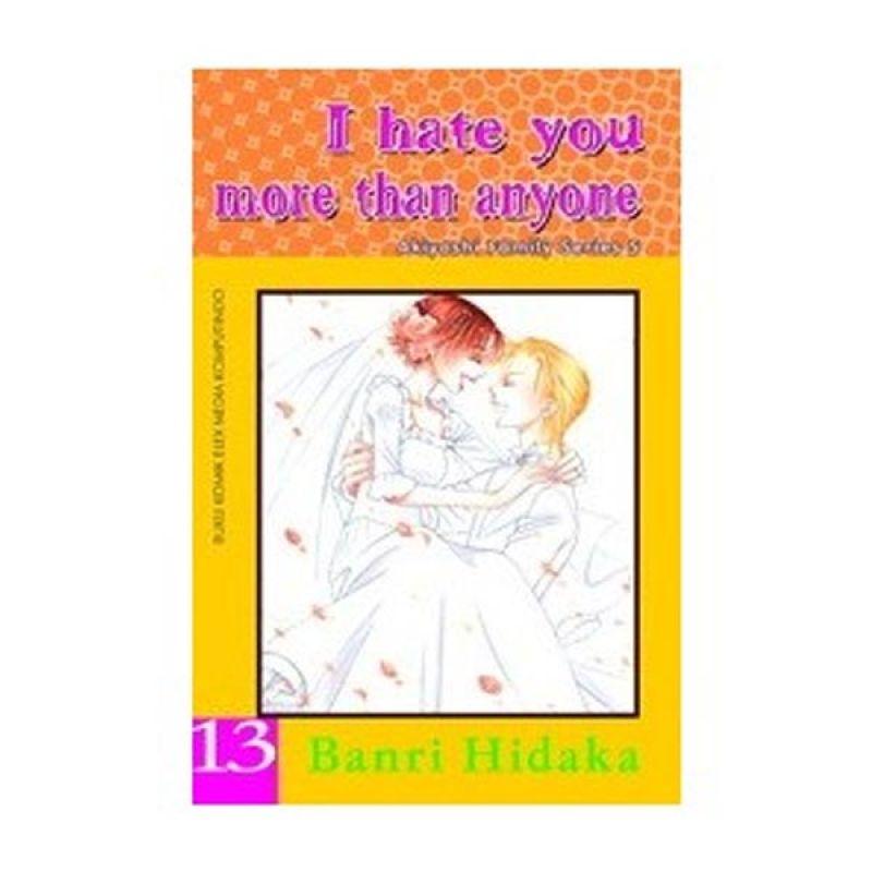 Grazera I Hate You More Than Anyone Vol 13 by Banri Hidaka Buku Komik