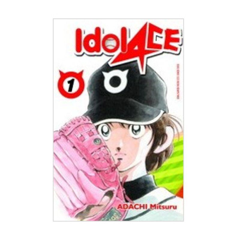 Grazera Idol Ace Vol. 01 by Adachi Mitsuru Buku Komik