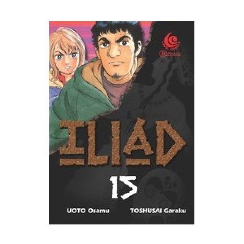 Grazera Iliad Vol 15 by Uoto Osamu Buku Komik