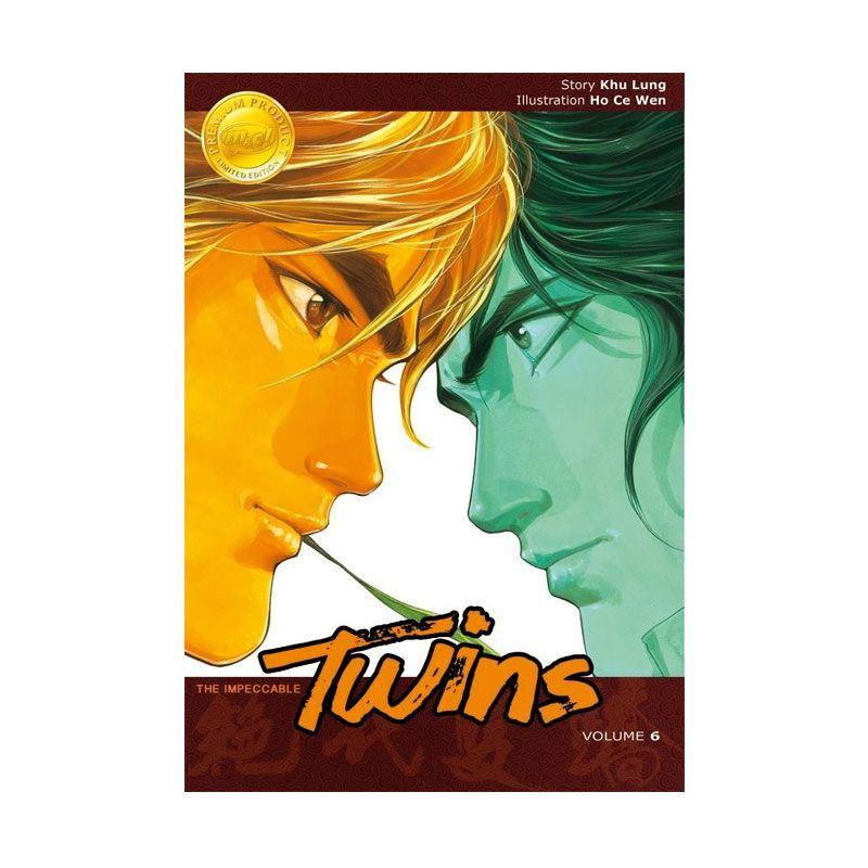 Grazera Impeccable Twins Vol 6 by Khu Lung and Ho Ce Wen Buku Komik