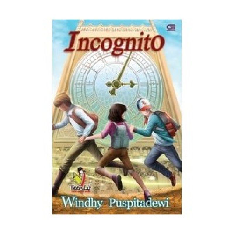 Grazera Incognito by Windhy Puspitadewi Buku Fiksi