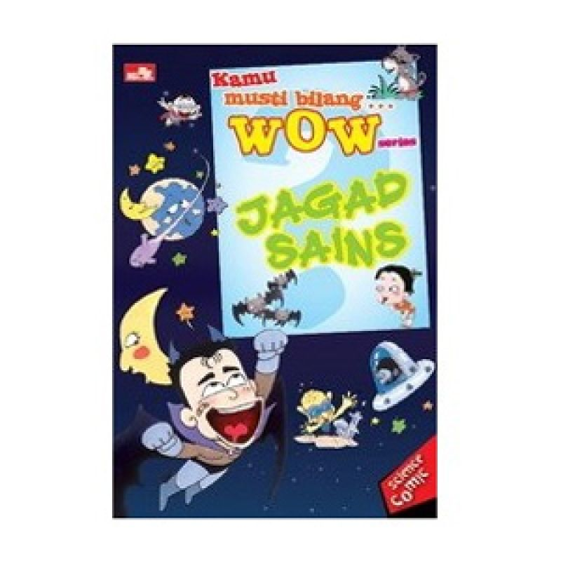 Grazera Jagad Sains by Choi Jung Woo Buku Komik