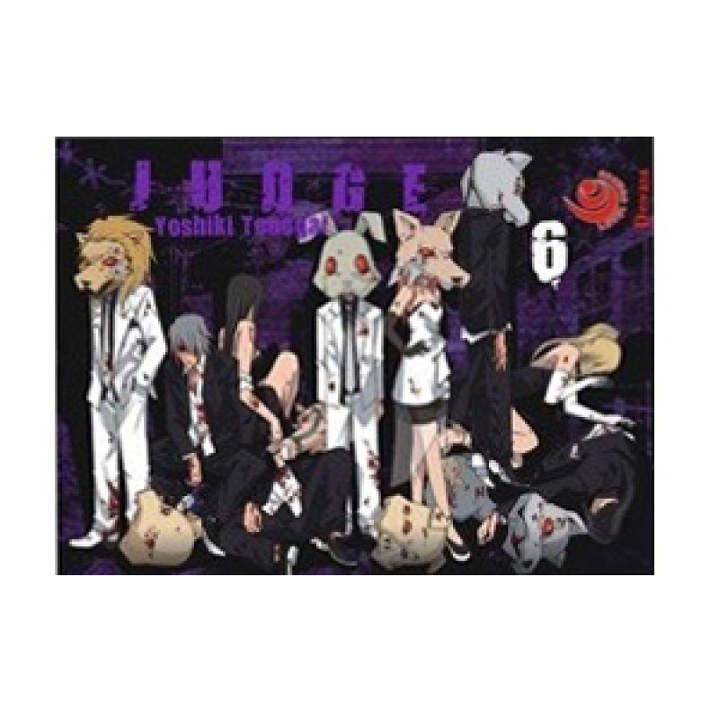 Grazera Judge Vol 06 by Yoshiki Tonogai Buku Komik