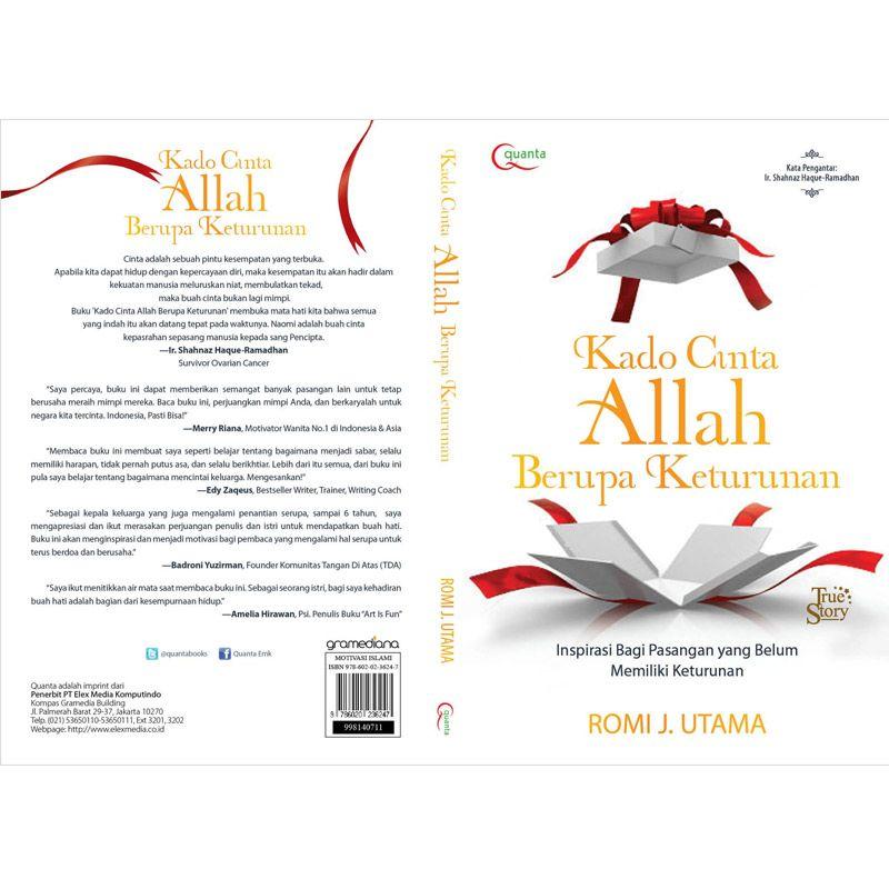 Grazera Kado Cinta Allah Berupa Keturunan by Romi J. Utama Buku Agama