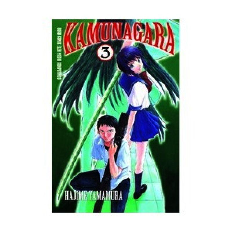 Grazera Kamunagara Vol 03 by Hajime Yamamura Buku Komik