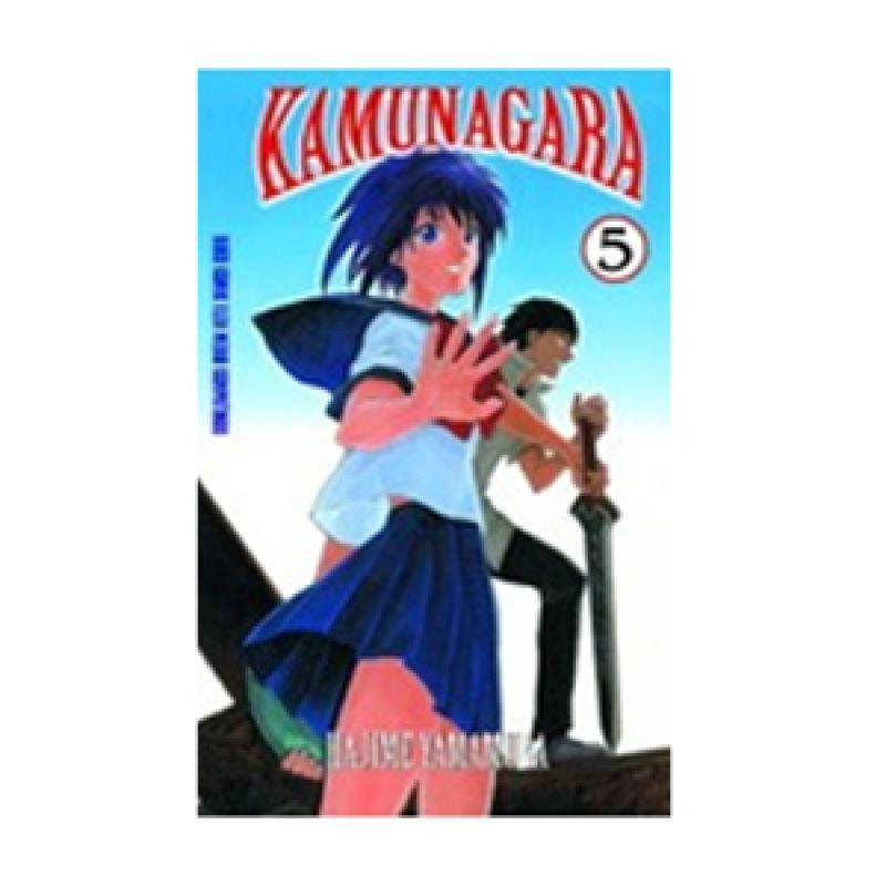 Grazera Kamunagara Vol 05 by Hajime Yamamura Buku Komik