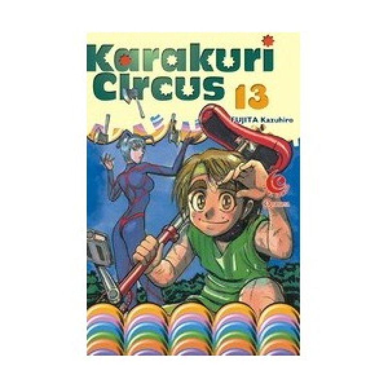 Grazera Karakuri Circus 13 by Fujita Kazuhiro Buku Komik