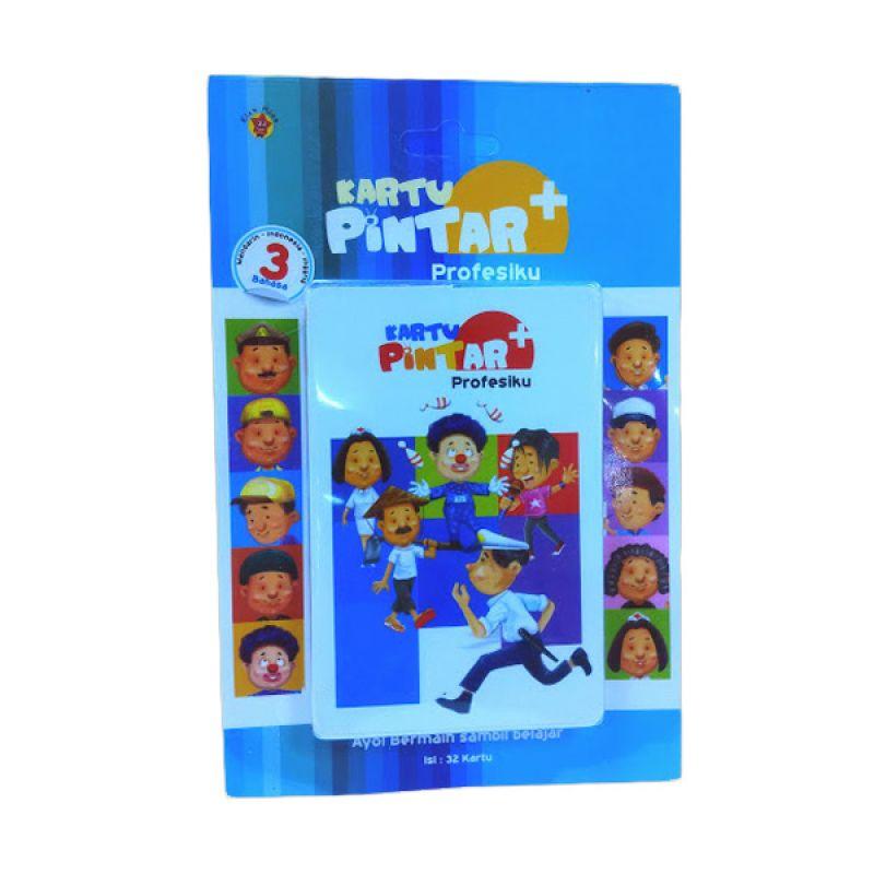 Grazera Kartu Pintar 3 Bahasa 3 Profesiku by Paulus Gautama Buku Anak