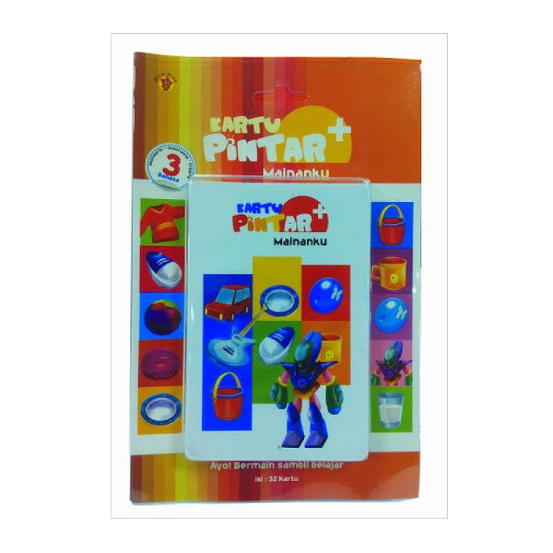 Grazera Kartu Pintar 3 Bahasa 4 Mainanku by Paulus Gautama Buku Anak