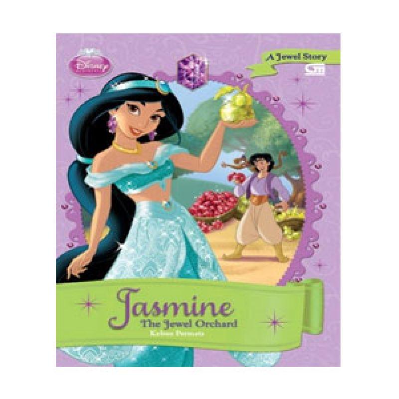 Grazera Kebun Permata Jasmine by Disney Buku Fiksi