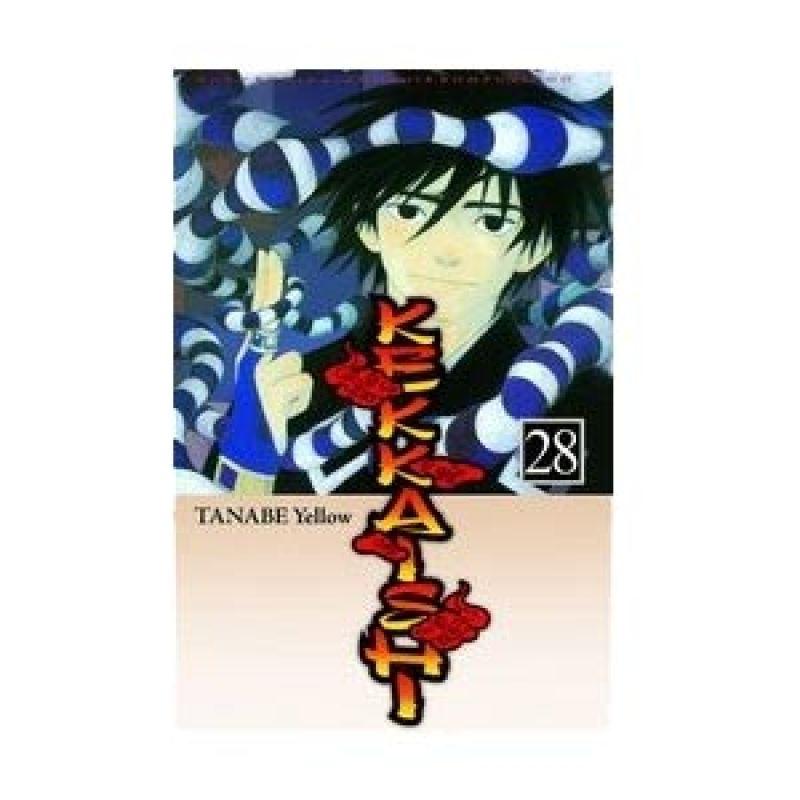 Grazera Kekkaishi Vol 28 by Tanabe Yellow Buku Komik