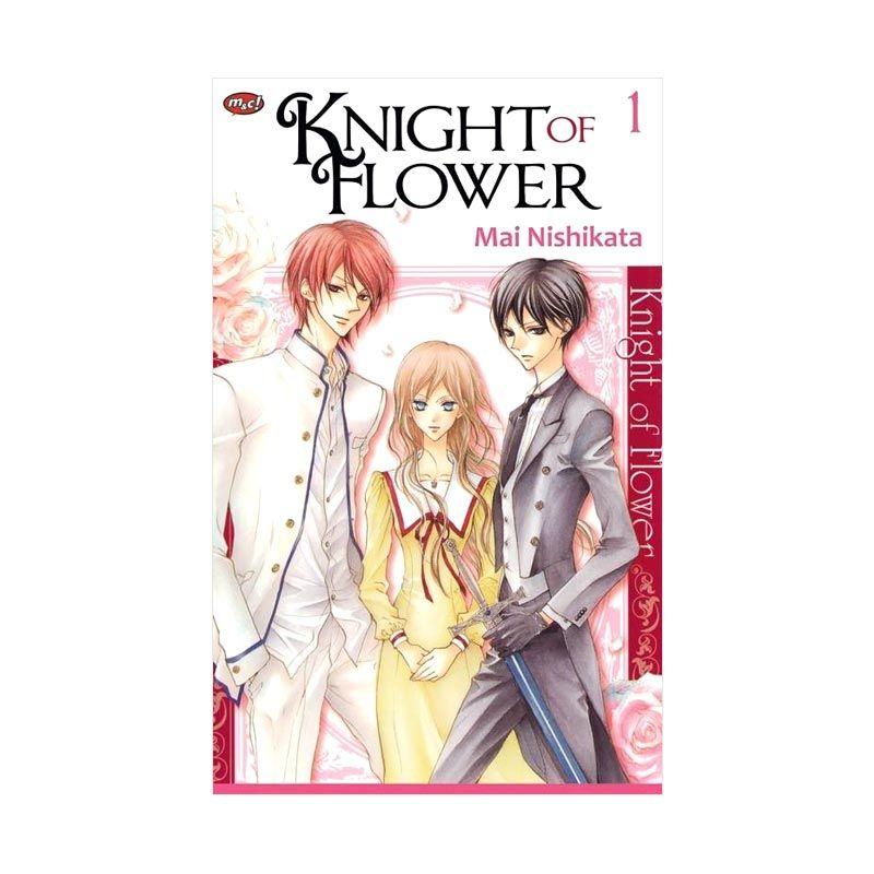 Grazera Knight Of Flower Vol 1 by Mai Nishikata Buku Komik
