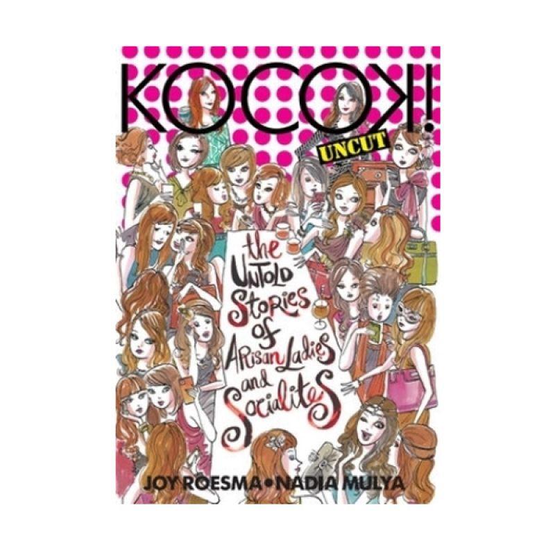 Grazera Kocok! Uncut by Nadia Mulya Buku Fiksi