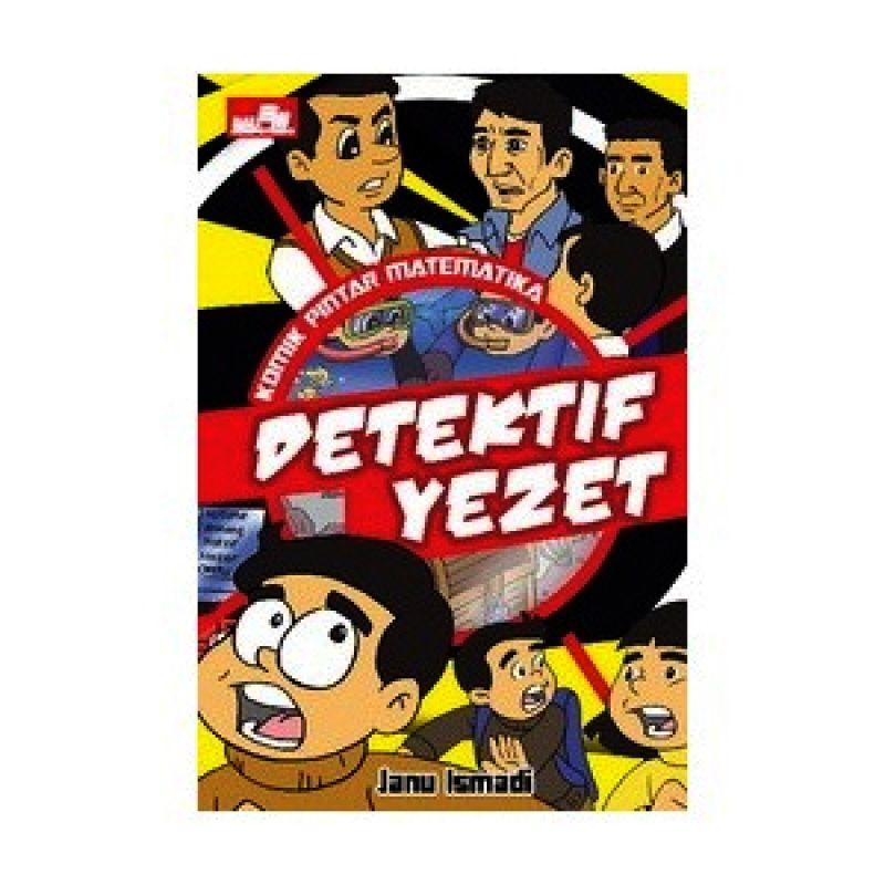 Grazera Komik Pintar Matematika Detektif Yezet by Janu Ismadi Buku Komik