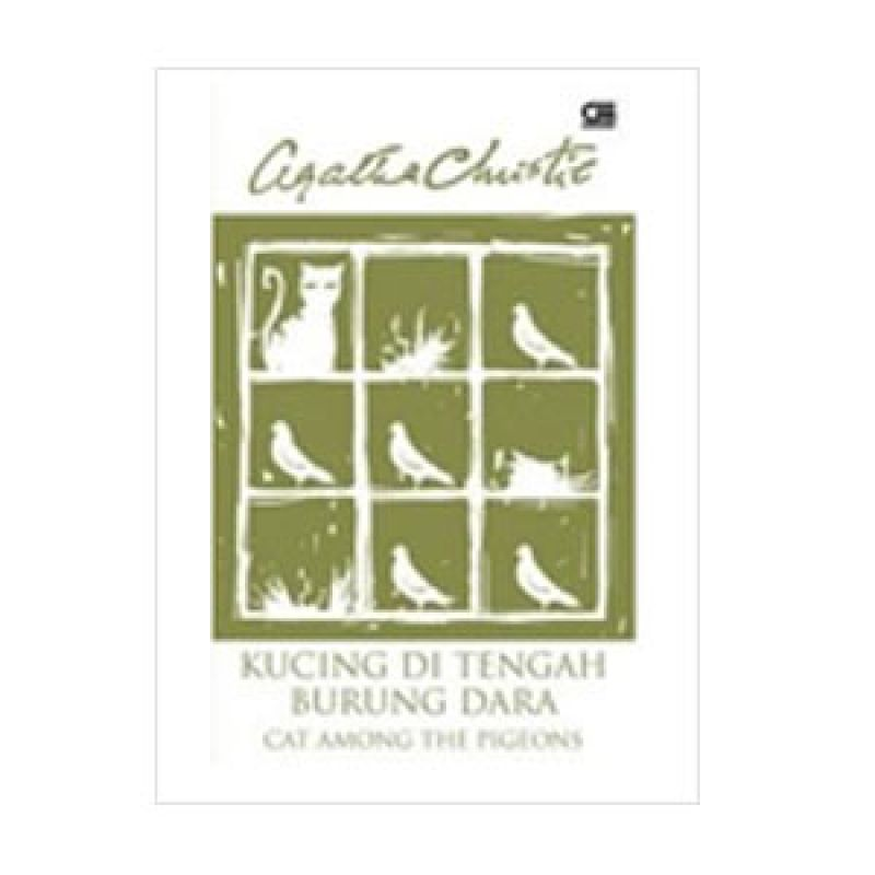 Grazera Kucing di Tengah Burung Dara by Agatha Christie Novel