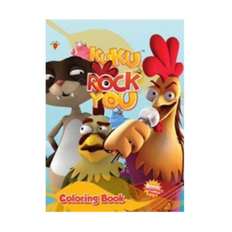 Grazera Kuku Rock You Coloring Book by Dgm Animation Buku Mewarnai