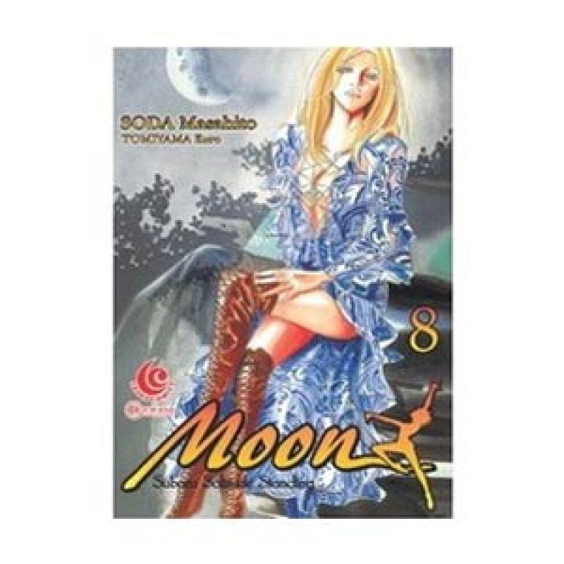 Grazera Kuro Moon Vol 08 by Soda Masahito Tomiyama Buku Komik